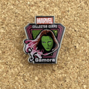 Prendedor Gamora Marvel Collector Corps