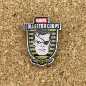 Prendedor Nick Fury Marvel Collector Corps