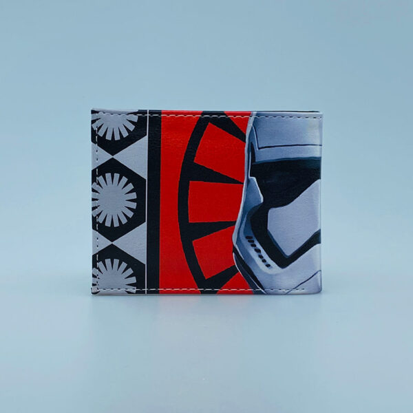 Billetera Ecocuero Star Wars medio trooper