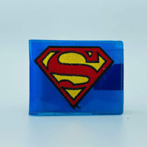 Billetera Plastica bordada Superman