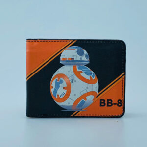 Billetera Ecocuero Star Wars BB-8