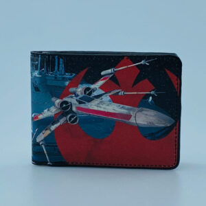 Billetera Ecocuero Star Wars xwing