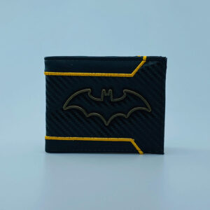 Billetera Ecocuero Batman Logo metalico