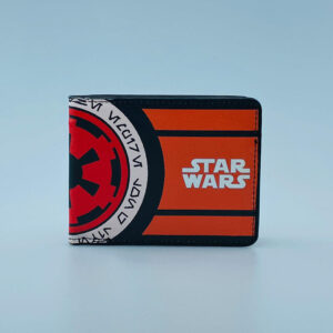 Billetera Ecocuero Star Wars Naranja