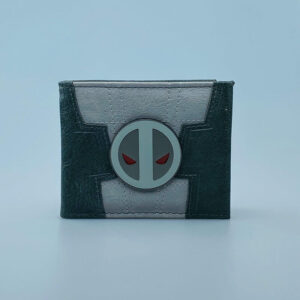 Billetera Ecocuero Deadpool Gris