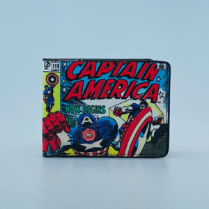Billetera Ecocuero Capitan America vs redskull
