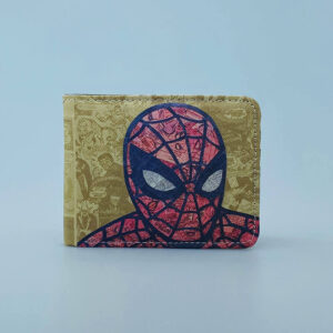 Billetera Ecocuero Spiderman vintage