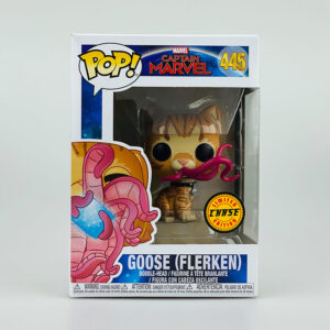 Funko Pop Captain Marvel Limited Chase Edition 445